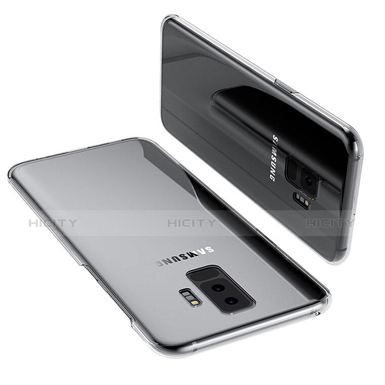 Silikon Schutzhülle Ultra Dünn Tasche Durchsichtig Transparent T14 für Samsung Galaxy S9 Plus Klar groß