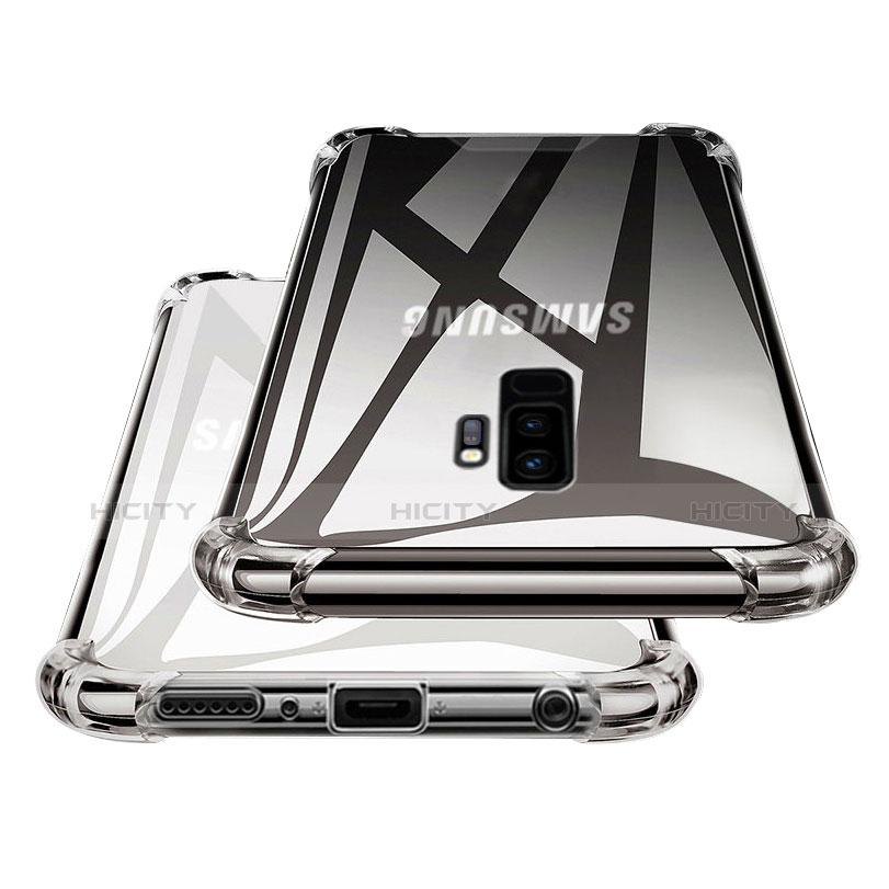Silikon Schutzhülle Ultra Dünn Tasche Durchsichtig Transparent T17 für Samsung Galaxy S9 Plus Klar Plus