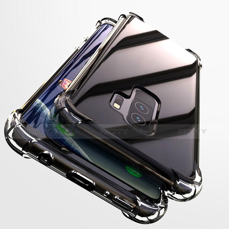 Silikon Schutzhülle Ultra Dünn Tasche Durchsichtig Transparent T19 für Samsung Galaxy S9 Plus Klar Plus