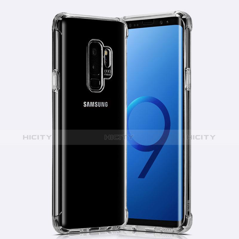 Silikon Schutzhülle Ultra Dünn Tasche Durchsichtig Transparent T22 für Samsung Galaxy S9 Plus Klar Plus
