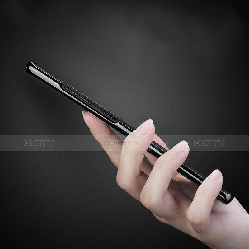 Silikon Schutzhülle Ultra Dünn Tasche Durchsichtig Transparent T23 für Samsung Galaxy S9 Plus Weiß groß