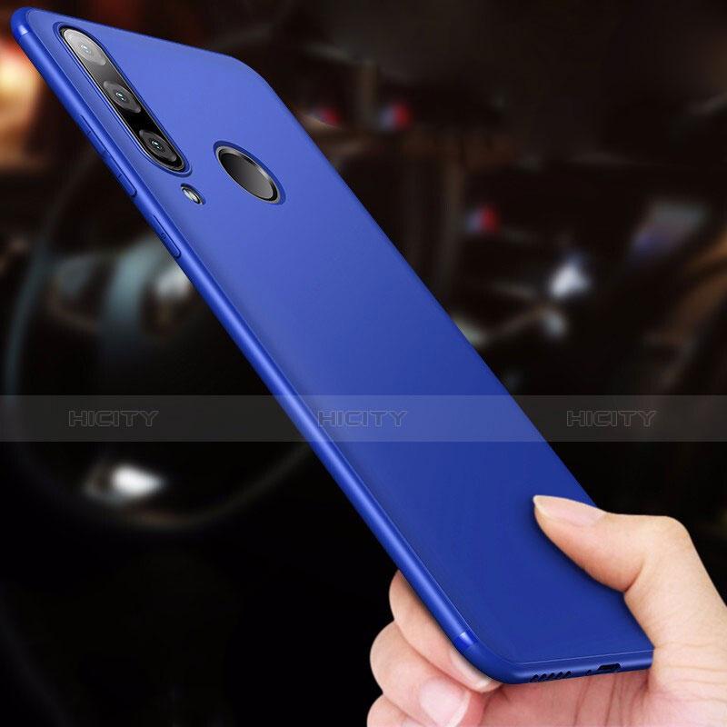 Silikon Schutzhülle Ultra Dünn Tasche S03 für Huawei P30 Lite Blau groß