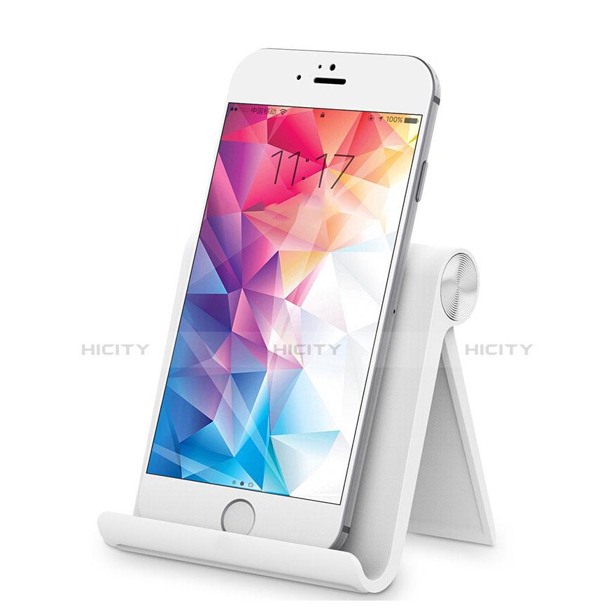 Smartphone Halter Halterung Handy Ständer Universal Weiß Plus