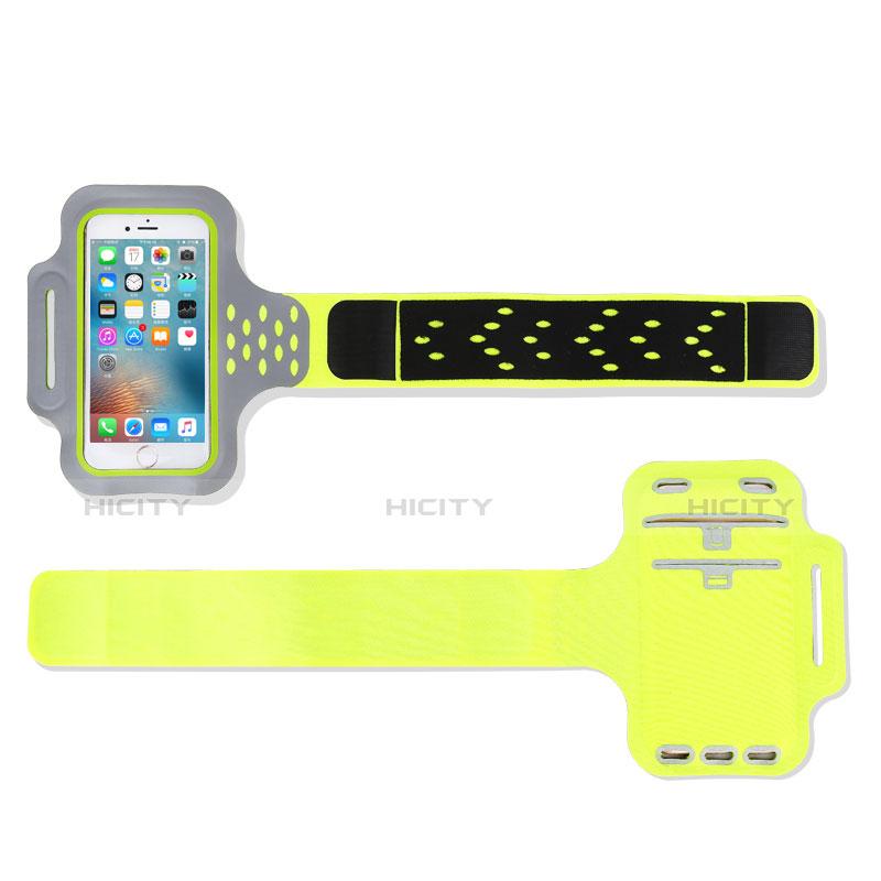 Sport Armband Handytasche Sportarmband Laufen Joggen Universal B10 Grün groß