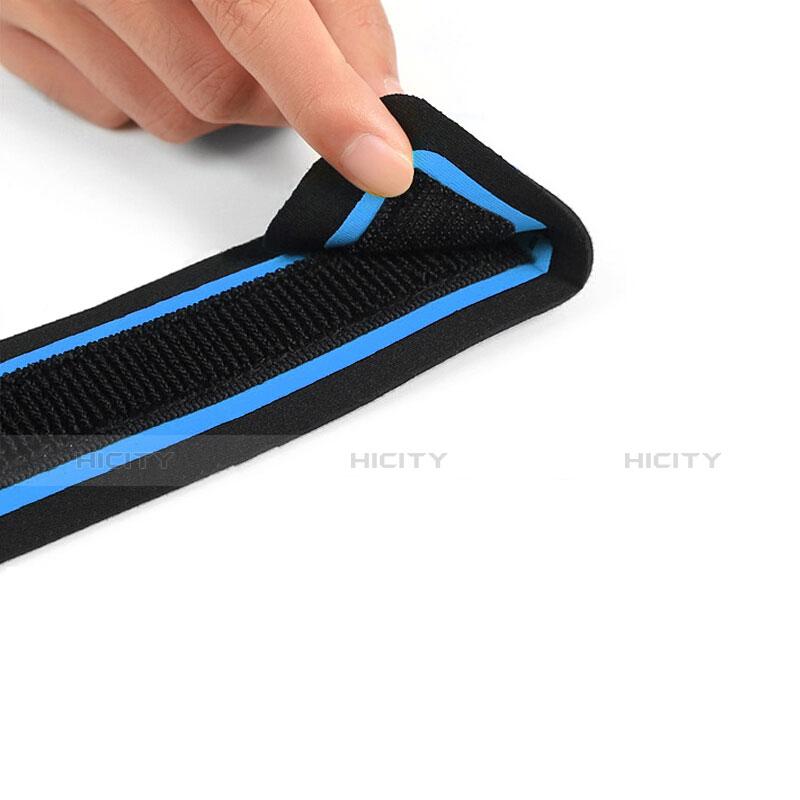 Sport Armband Handytasche Sportarmband Laufen Joggen Universal B17 Blau groß
