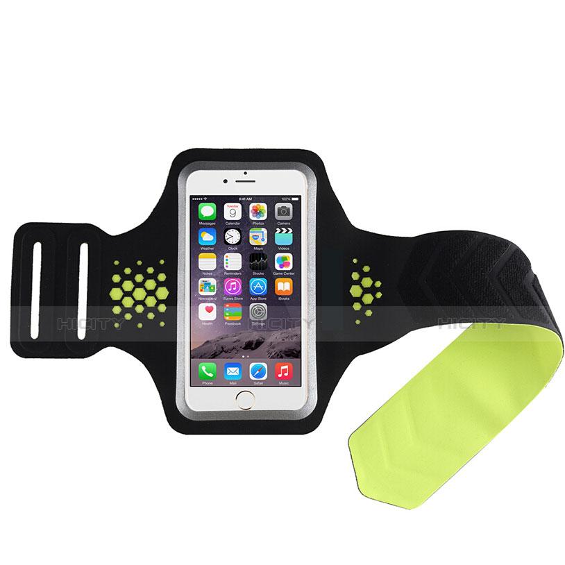 Sport Armband Handytasche Sportarmband Laufen Joggen Universal B20 Grün groß