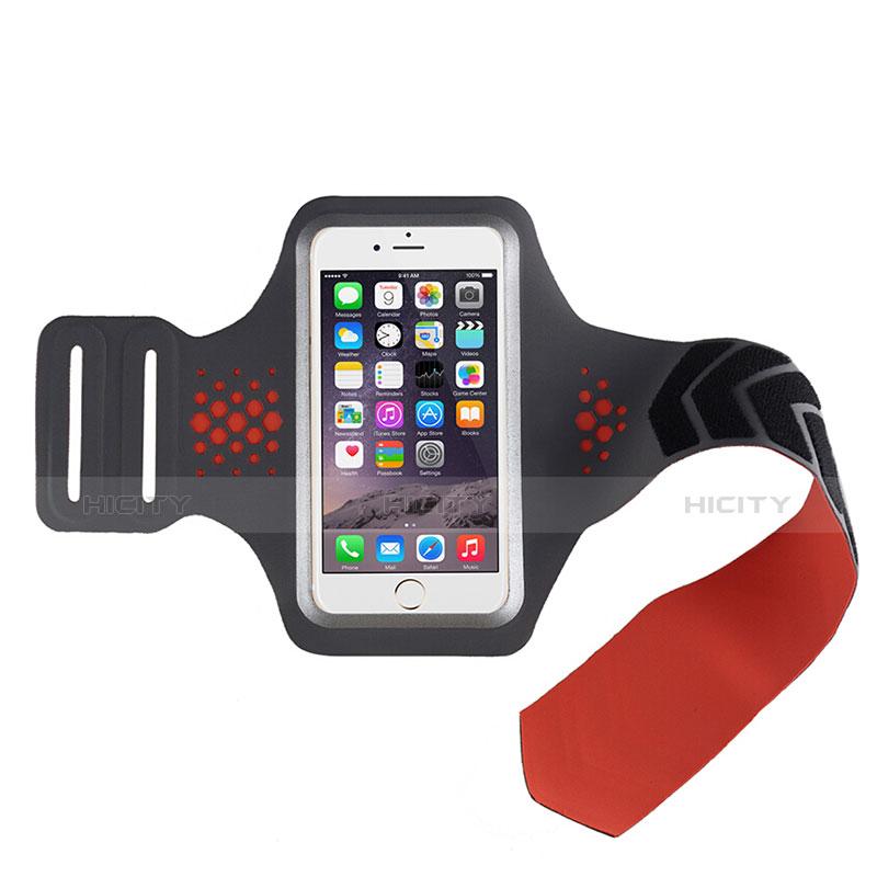 Sport Armband Handytasche Sportarmband Laufen Joggen Universal B20 Rot groß