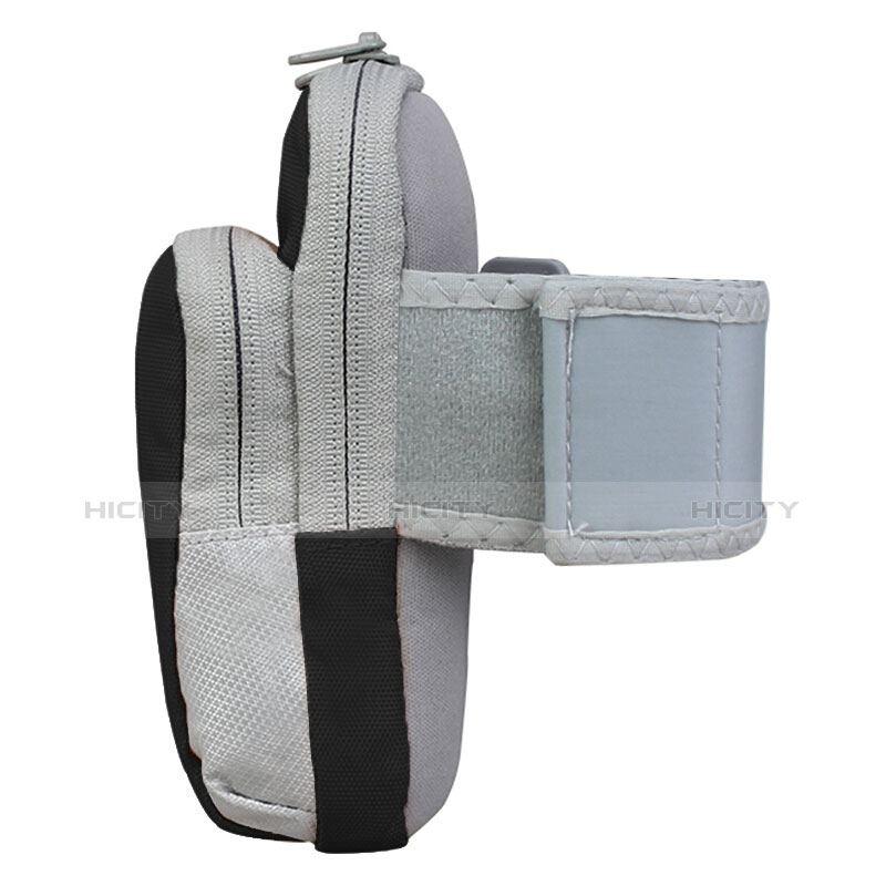 Sport Armband Handytasche Sportarmband Laufen Joggen Universal B24 Schwarz groß