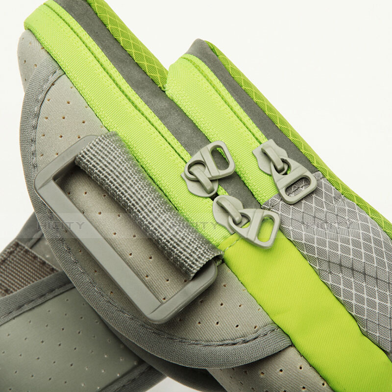 Sport Armband Schutzhülle Laufen Joggen Diamant Universal Grün groß
