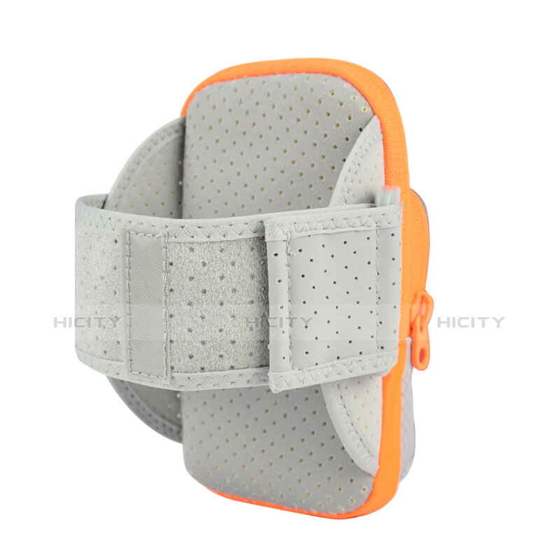 Sport Armband Tasche Sportarmband Laufen Joggen Diamant Universal B18 Schwarz groß