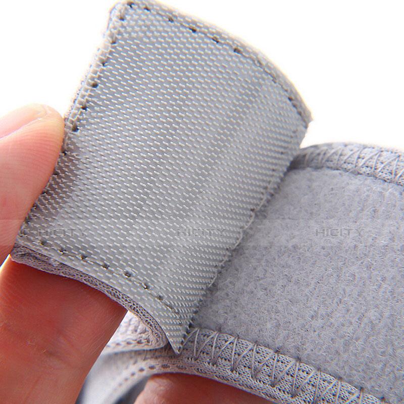 Sport Armband Tasche Sportarmband Laufen Joggen Diamant Universal B21 Hellblau groß