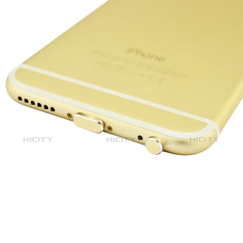 Staubschutz Stöpsel Passend Lightning USB Jack J01 für Apple iPhone 11 Gold