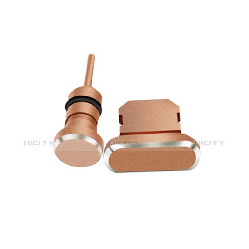 Staubschutz Stöpsel Passend Lightning USB Jack J01 für Apple iPhone 11 Pro Max Rosegold Plus