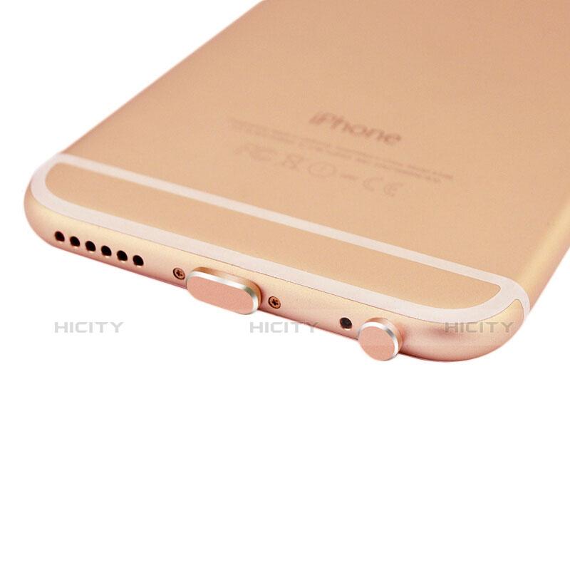 Staubschutz Stöpsel Passend Lightning USB Jack J01 für Apple iPhone 11 Pro Max Rosegold groß