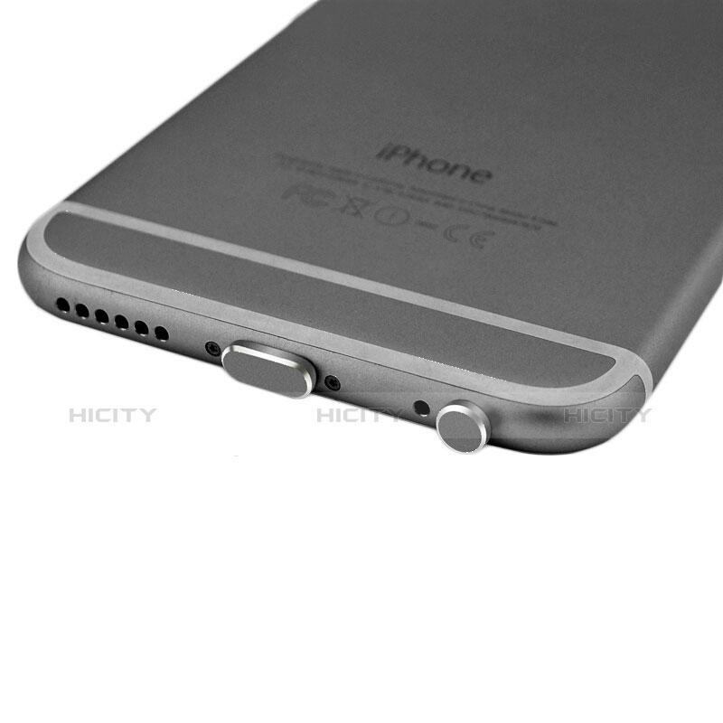 Staubschutz Stöpsel Passend Lightning USB Jack J01 für Apple iPhone 11 Pro Max Schwarz groß
