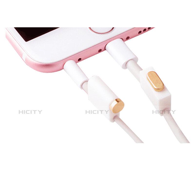 Staubschutz Stöpsel Passend Lightning USB Jack J02 für Apple iPhone 11 Pro Gold groß