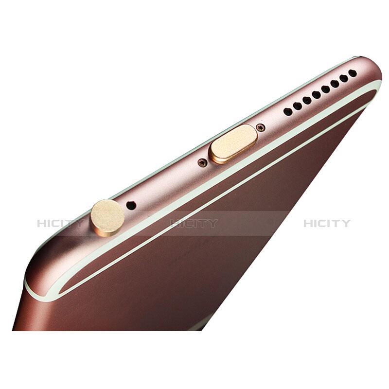 Staubschutz Stöpsel Passend Lightning USB Jack J02 für Apple iPhone 11 Pro Max Gold Plus