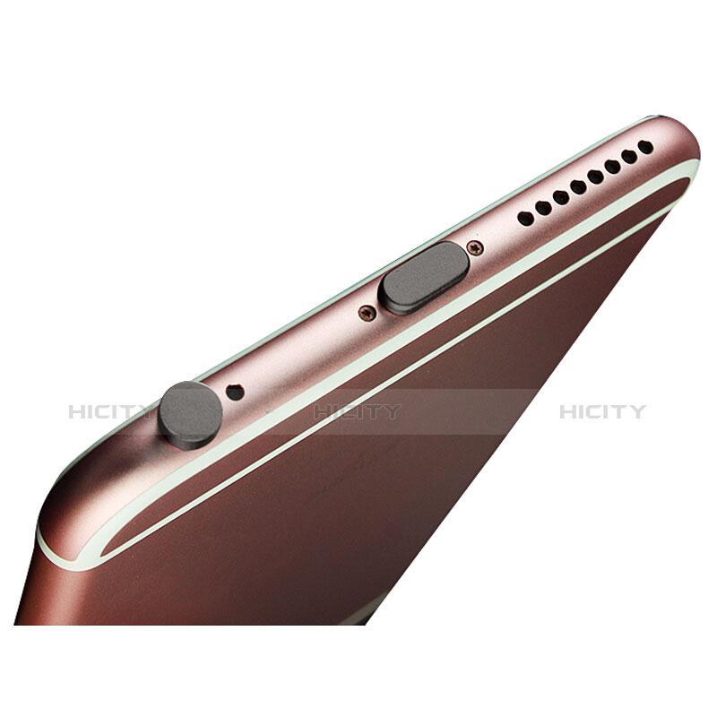 Staubschutz Stöpsel Passend Lightning USB Jack J02 für Apple iPhone 11 Pro Max Schwarz Plus