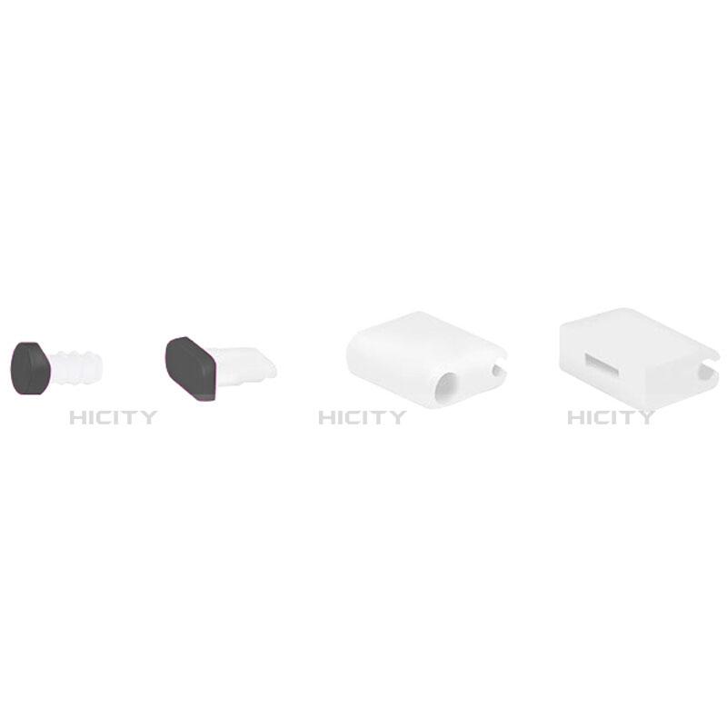Staubschutz Stöpsel Passend Lightning USB Jack J02 für Apple iPhone 11 Pro Max Schwarz groß