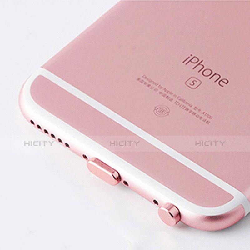 Staubschutz Stöpsel Passend Lightning USB Jack J02 für Apple iPhone 11 Pro Rosegold groß