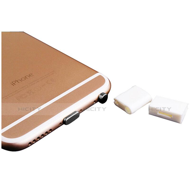 Staubschutz Stöpsel Passend Lightning USB Jack J02 für Apple iPhone 11 Schwarz