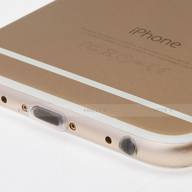 Staubschutz Stöpsel Passend Lightning USB Jack J03 für Apple iPhone 11 Pro Weiß groß