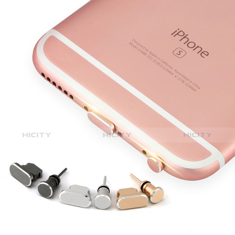 Staubschutz Stöpsel Passend Lightning USB Jack J04 für Apple iPhone 11 Pro Silber