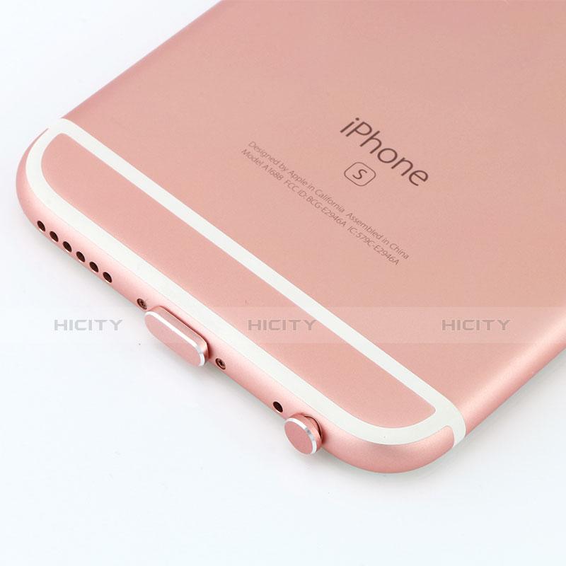 Staubschutz Stöpsel Passend Lightning USB Jack J04 für Apple iPhone 11 Rosegold groß