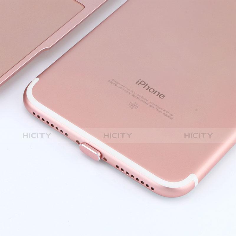 Staubschutz Stöpsel Passend Lightning USB Jack J06 für Apple iPhone 11 Rosegold