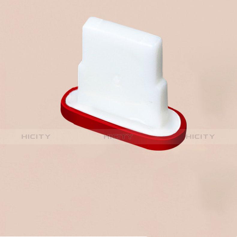 Staubschutz Stöpsel Passend Lightning USB Jack J07 für Apple iPhone 11 Pro Rot Plus