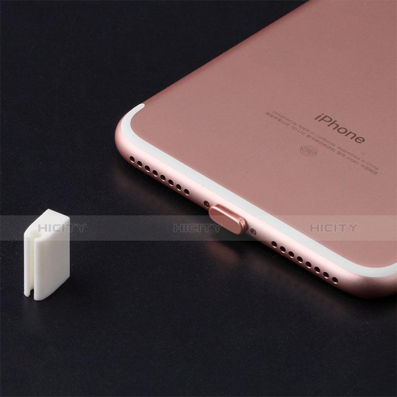 Staubschutz Stöpsel Passend Lightning USB Jack J07 für Apple iPhone 11 Pro Rot groß