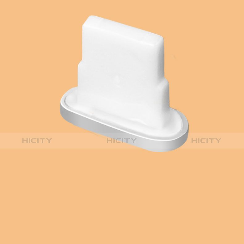 Staubschutz Stöpsel Passend Lightning USB Jack J07 für Apple iPhone 11 Silber Plus