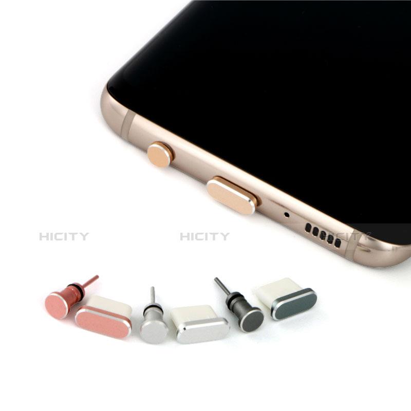 Staubschutz Stöpsel Passend USB Jack Android Type-C Universal Silber groß
