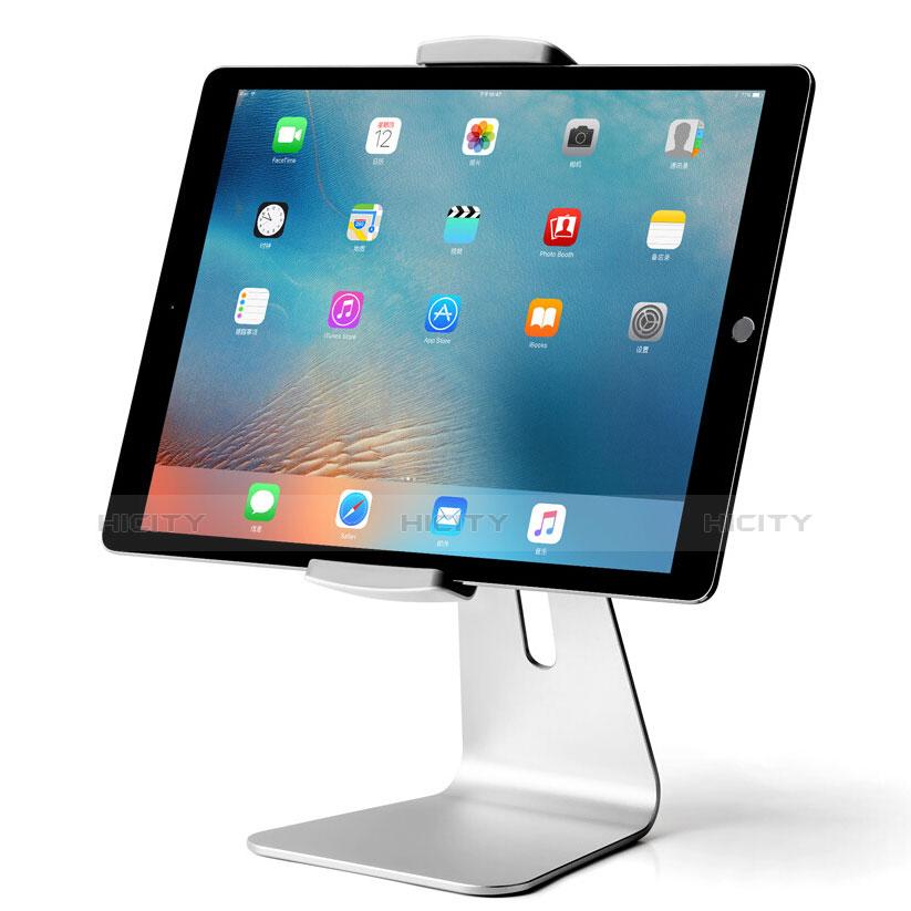 Tablet Halter Halterung Universal Tablet Ständer T24 für Samsung Galaxy Tab 2 7.0 P3100 P3110 Silber Plus