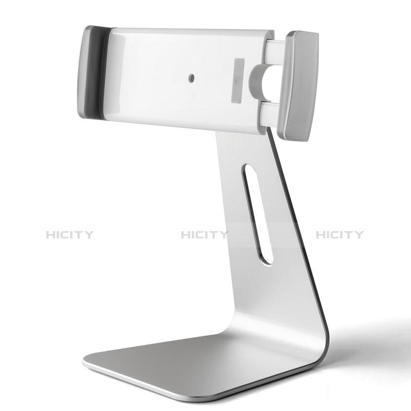 Tablet Halter Halterung Universal Tablet Ständer T24 für Samsung Galaxy Tab 2 7.0 P3100 P3110 Silber groß