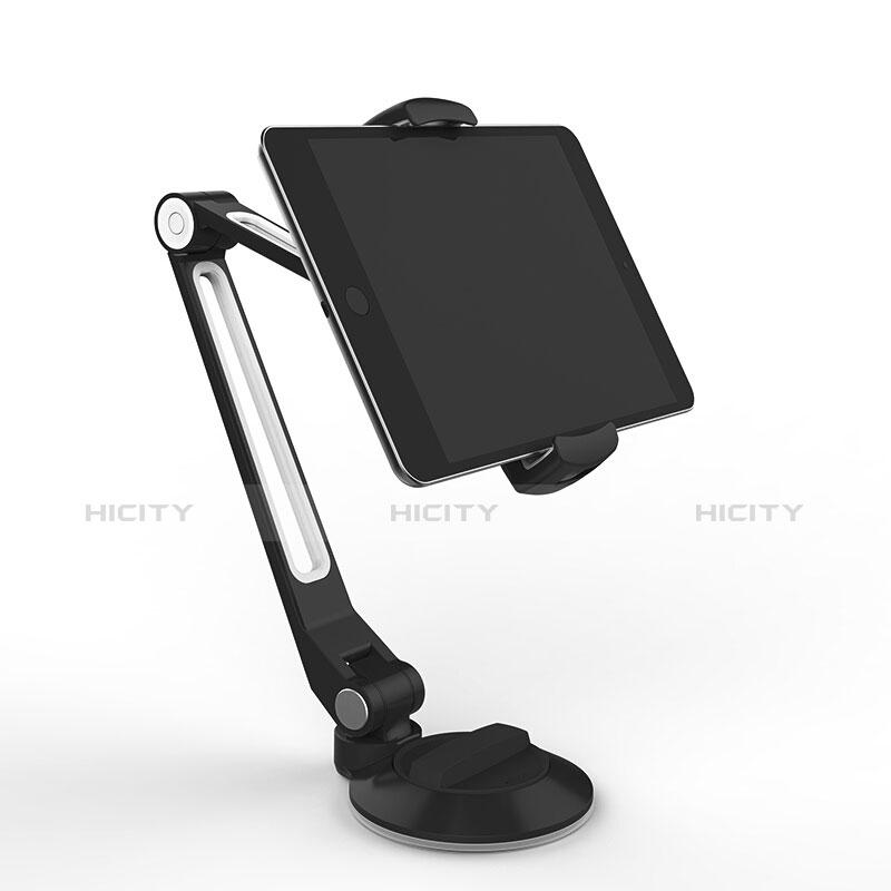 Universal Faltbare Ständer Tablet Halter Halterung Flexibel H04 für Apple New iPad 9.7 (2018) Schwarz Plus