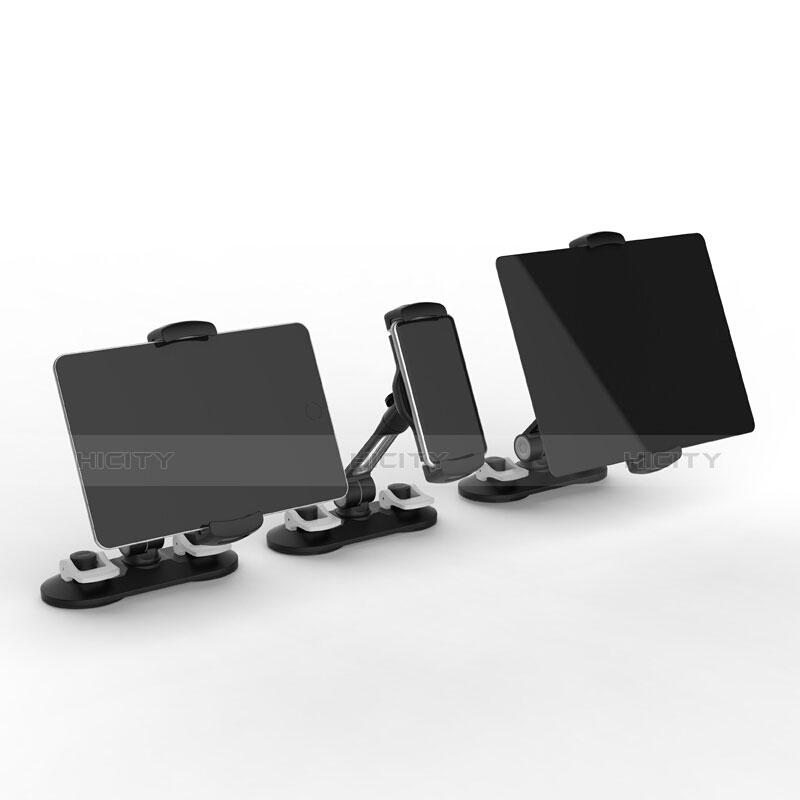 Universal Faltbare Ständer Tablet Halter Halterung Flexibel H11 für Apple iPad Pro 12.9 (2020) Schwarz Plus