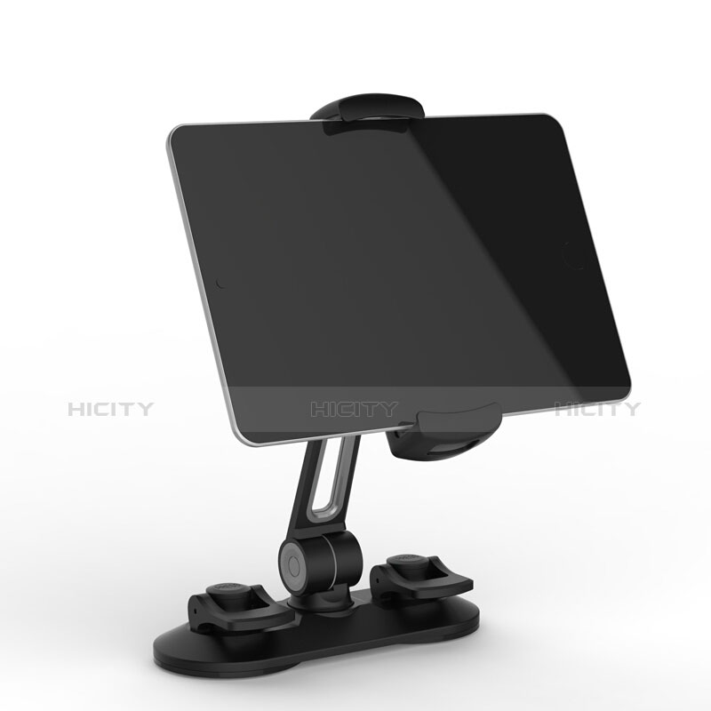 Universal Faltbare Ständer Tablet Halter Halterung Flexibel H11 für Apple New iPad Air 10.9 (2020) Schwarz groß