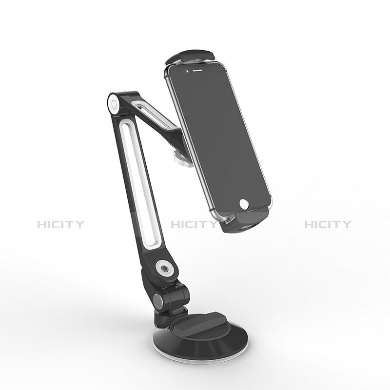 Universal Faltbare Ständer Tablet Halter Halterung Flexibel H12 für Apple iPad New Air (2019) 10.5 Schwarz groß