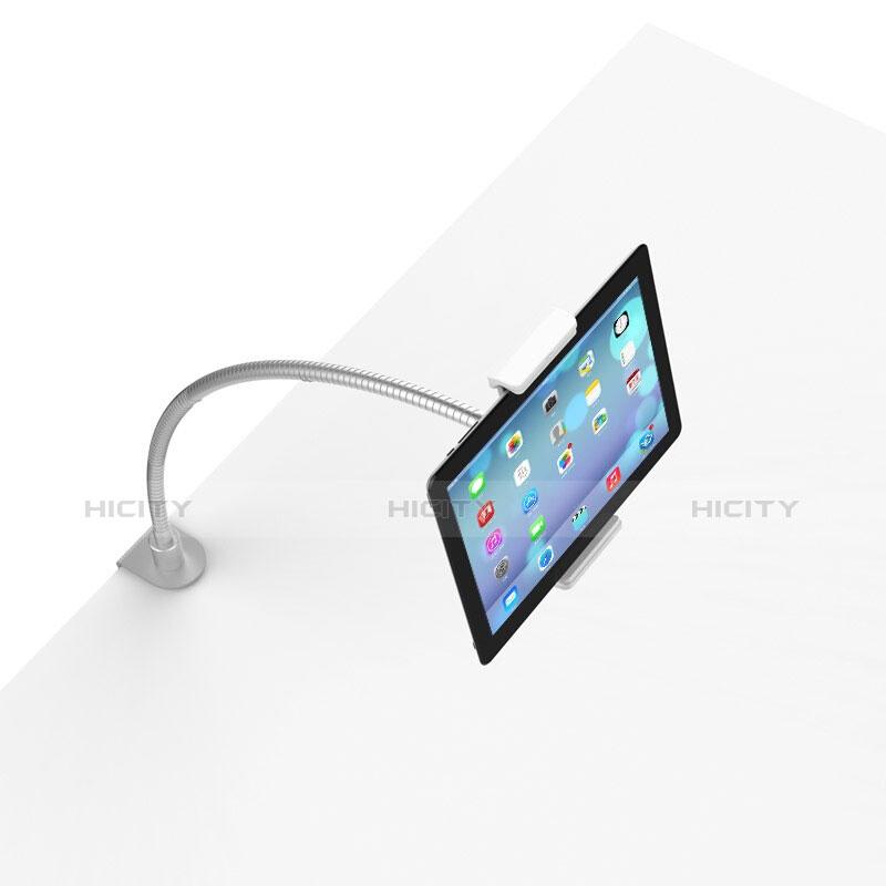 Universal Faltbare Ständer Tablet Halter Halterung Flexibel T37 für Samsung Galaxy Tab Pro 8.4 T320 T321 T325 Weiß groß