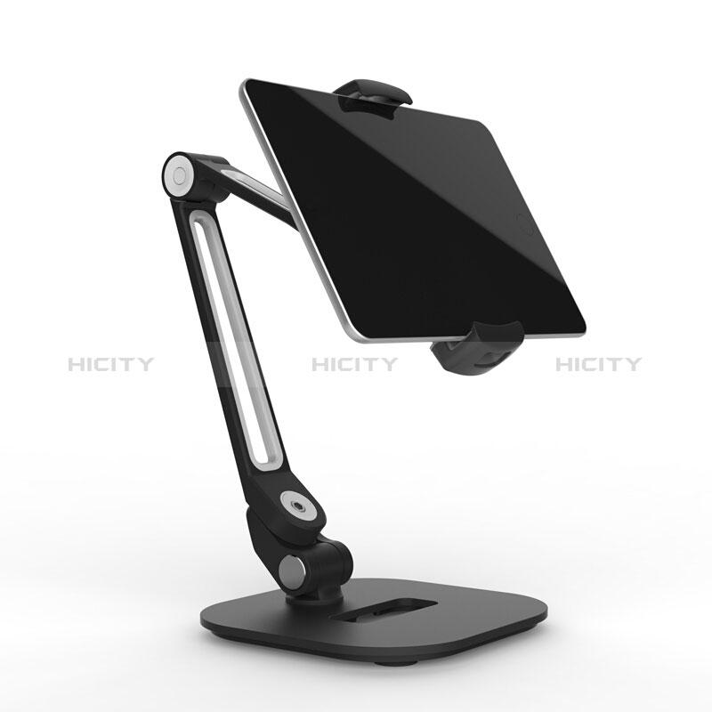 Universal Faltbare Ständer Tablet Halter Halterung Flexibel T44 für Apple New iPad 9.7 (2018) Schwarz groß