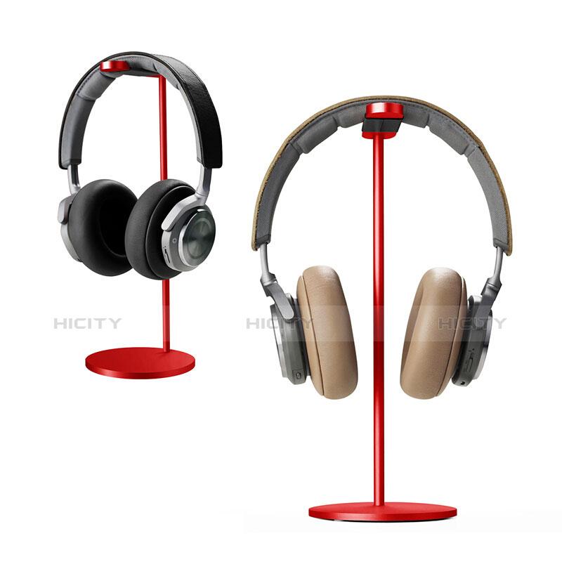 Universal Ständer Ohrhörer Headset Kopfhörer Stand H01 Rot Plus