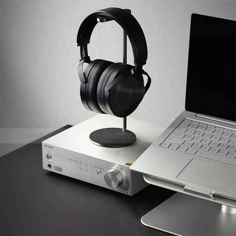 Universal Ständer Ohrhörer Headset Kopfhörer Stand H01 Schwarz groß