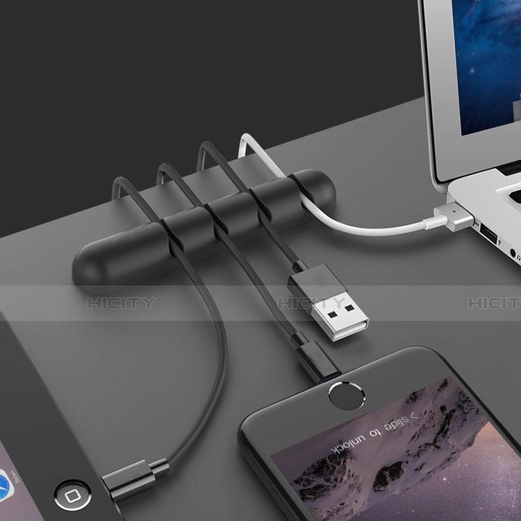 USB Ladekabel Kabel C02 für Apple iPhone 11 Schwarz groß