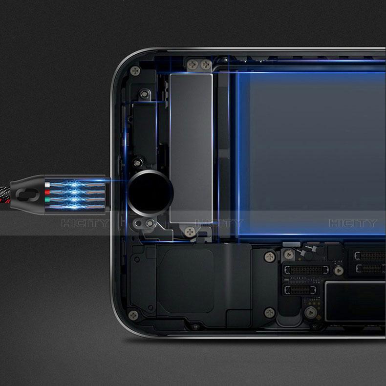 USB Ladekabel Kabel C04 für Apple iPhone 11 Pro groß