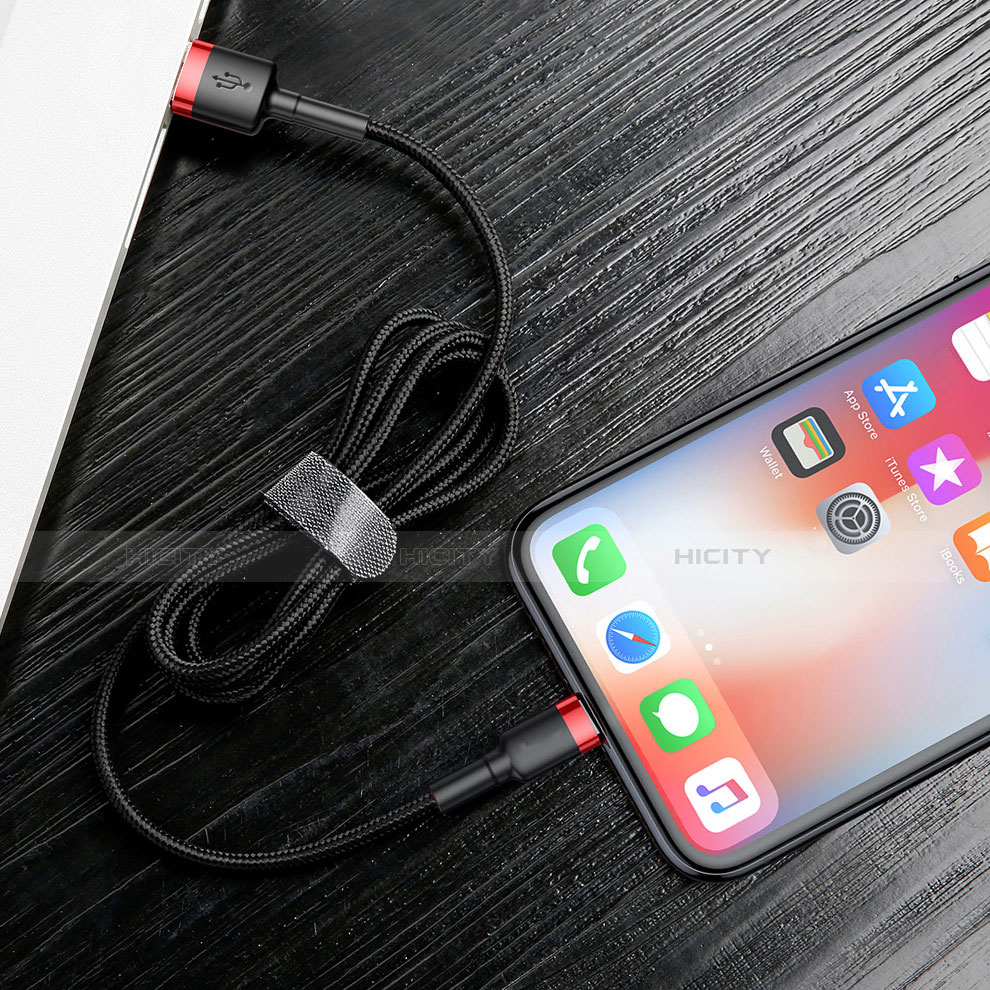 USB Ladekabel Kabel C07 für Apple iPhone 11 Pro groß