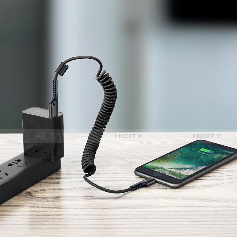 USB Ladekabel Kabel C08 für Apple iPhone 11 groß