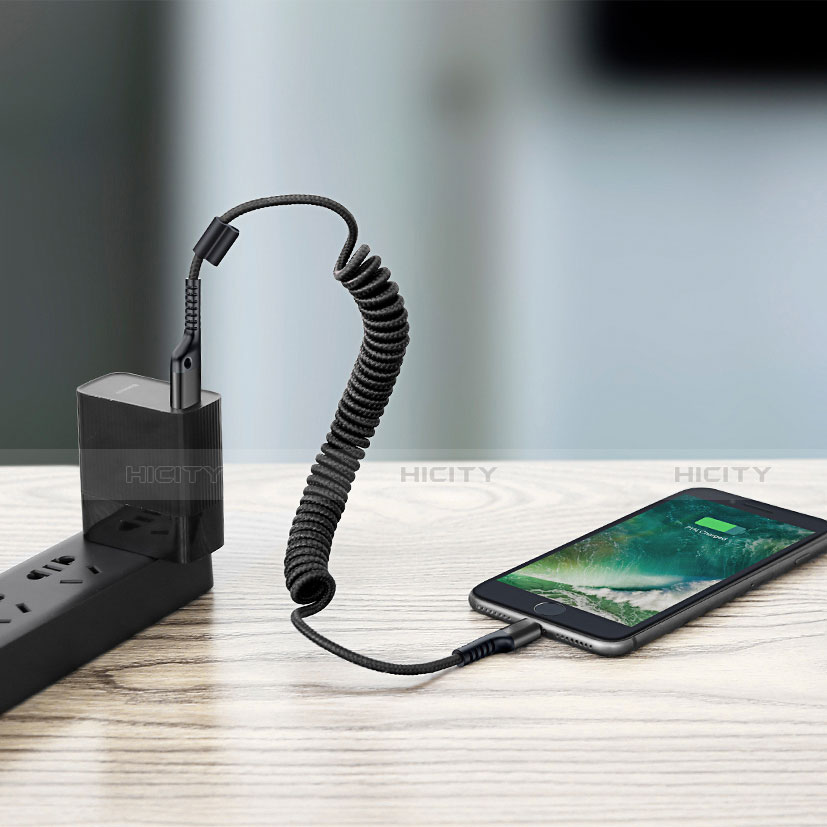 USB Ladekabel Kabel C08 für Apple iPhone 11 Pro groß