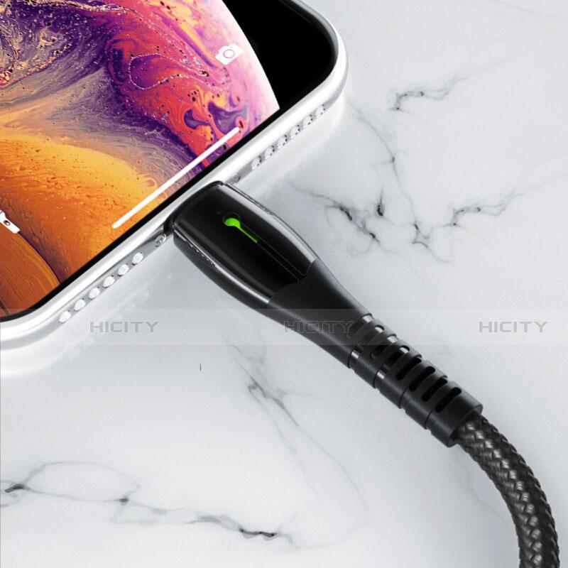 USB Ladekabel Kabel D23 für Apple iPhone 11 Pro groß