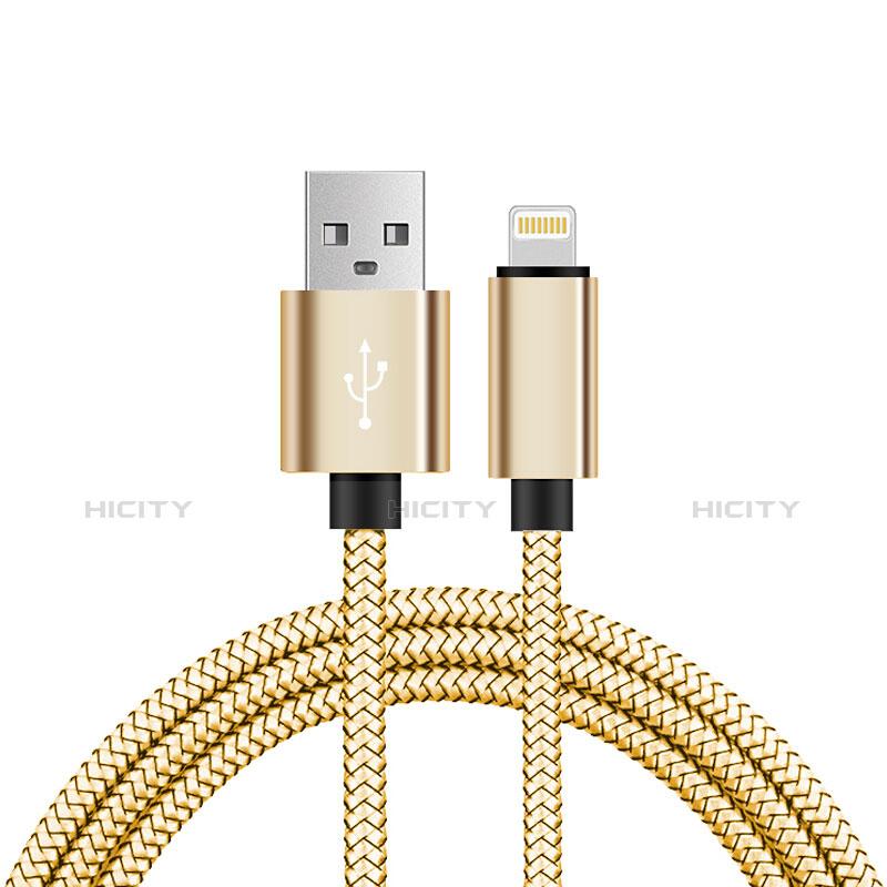 USB Ladekabel Kabel L07 für Apple iPhone 11 Gold Plus